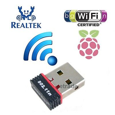 Mini USB WiFi Adapter Dongle for Desktop / Laptop / Raspberry Pi