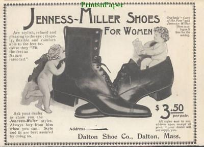 1900 Jenness Miller Shoes For Women Ad Dalton Shoe Company Nature Intended