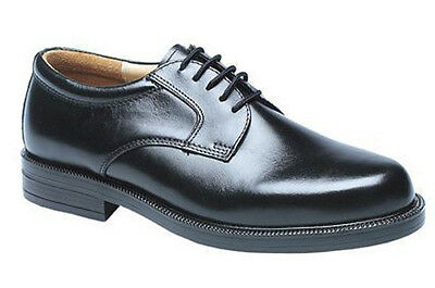 Mens New Black EE Wide Fitting Smart Leather Formal Work Gibson Shoes UK 6 - 14