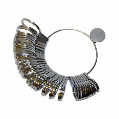 New 36pc Metal Ring Sizer Universal US & MM Sizes US FAST FREE SHIPPING IN A DAY