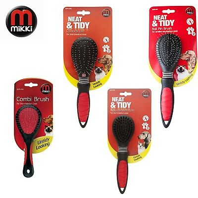 Mikki Cat Dog Grooming brush brushes various styles