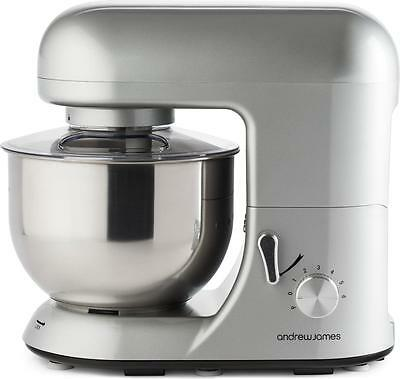 Andrew James 5.2 Litre Pro Electric Food Stand Mixer & Splash Guard