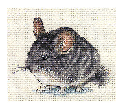 CHINCHILLA ~ Full counted cross stitch kit