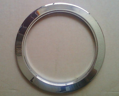 """6"""" Inch Recessed Can Light Trim Ring Reflector Chrome"""