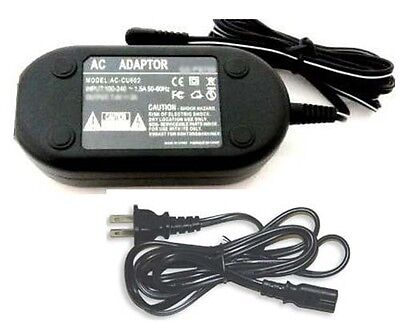 Accessory USA AC DC Adapter for JVC Camcorder GR-SXM340 GR-SXM340U GR-SXM340US GR-SXM535 GR-SXM535U GR-SXM535US GR-SXM740 GR-SXM740U GR-SXM740US Power Supply Cord with Barrel Tip.