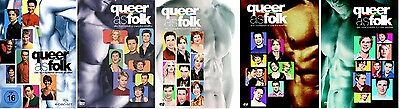 Queer as Folk Staffel 1-5 (1+2+3+4+5) DVD Set NEU OVP Die komplette Serie