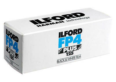 Ilford Fp4 Plus 120 Iso 125 (4 Pack) **Cheapest**