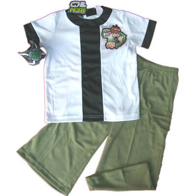 BNWT Ben 10 Ten Costume party dress up Crossplay wt arm band 3pc