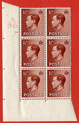 SG. 459. P3. 1½d Red-brown. A superb UNMOUNTED MINT.