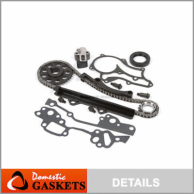 85-95 Toyota 2.4L 22R 22RE Pickup 4Runner Celica Timing Chain Kit 22REC