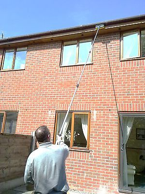 13Ft Water Fed Telescopic Extendable Window Cleaning Pole  Conservatory  Kit