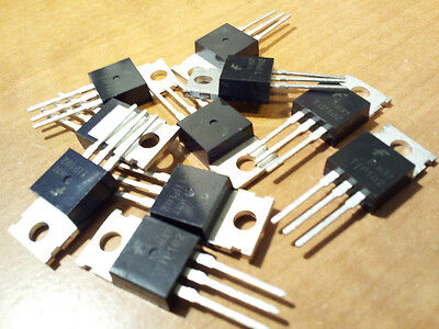 10PC TIP102 NPN 100V 8A Darlington Transistor TO-220