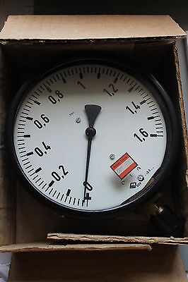 DDR Manometer TGL 16374 0-1,6 MPa M20x1,5 160mm