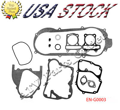 GY6 150cc SCOOTER Moped ATV Go Kart Engine Gasket Set Short Case 157QMJ
