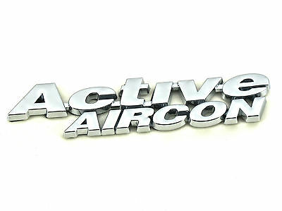 Genuine New FIAT ACTIVE AIRCON BADGE Emblem Stemma for Stilo Wing Fender
