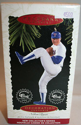 Hallmark Keepsake Ornament Nolan Ryan 1995 NRFB!
