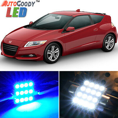 11 x Ultra RED Interior LED Lights Package For 2011-2015 Honda CRZ CR-Z TOOL