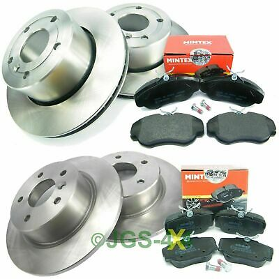 Discovery 2 TD5 Front Brake Discs Vented 98-04 MINTEX Brake Pads