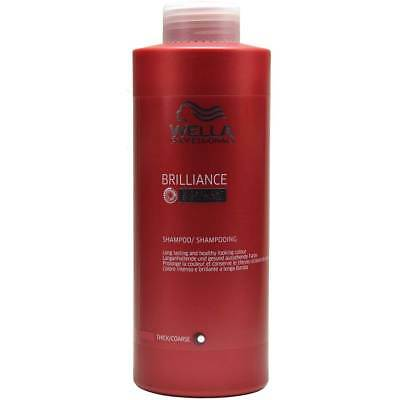 Wella Professionals Brilliance Shampoo kräftiges Haar - 1000ml