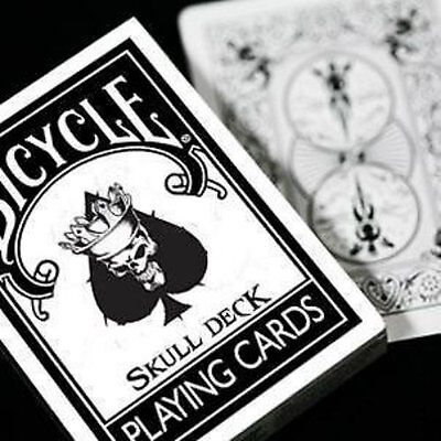 Skull Deck - Bicycle Playing Cards - Magic Tricks - New