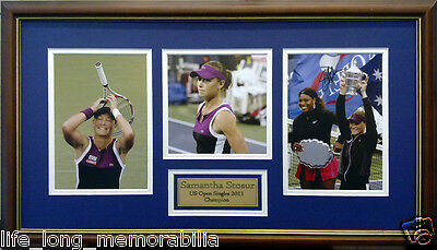 Samantha Stosur Tennis Us Open Champion 2011 Signed And Framed