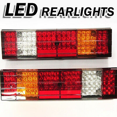 Led Rear Tail Ligths Fits Mercedes Atego Actros Set Of 2