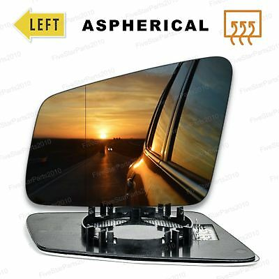 For Mercedes E-class W212 CGI 09-12 Heated Left Passenger Side Wing Mirror Glass