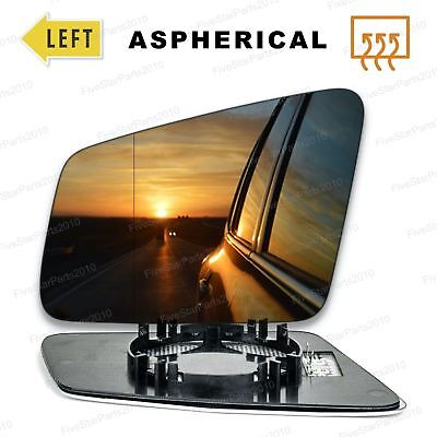 Left side wide angle wing mirror glass for Mercedes E-Class 2009-2016 Heated