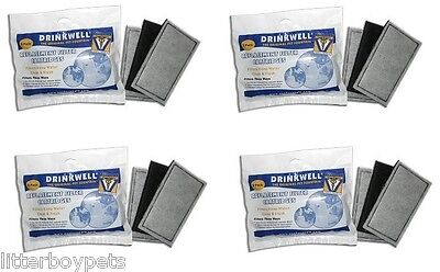 12 PK Replacement Water Filters Drinkwell Pet Fountain - orginal Filters