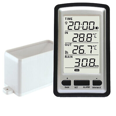 Pro Wireless Weather Station w Wind Speed & Rain Gauge
