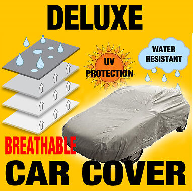 Medium Full Car Cover Breathable Water Resistant New Size M