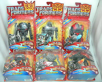 Transformers Revenge Of The Fallen Fast Action Battler Figure - Asst - NIP