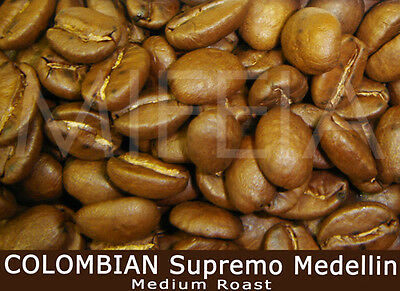 COLOMBIA Supremo Medellin Medium-Roast Coffee Beans 1Kg
