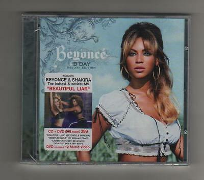 BEYONCE' - B DAY - DELUXE EDITION - CD + DVD  NUOVO  -  SIGILLATO!!- mint sealed
