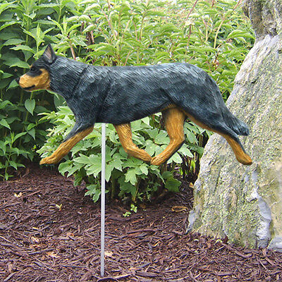 Australian Cattle Dog Figure Garden Stake. Home Yard & Garden Products & Gifts.