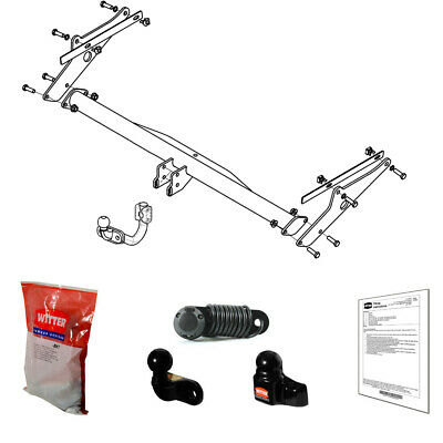 Witter Towbar for Ford Focus Estate / Est 2011-2018 - Flange Tow Bar