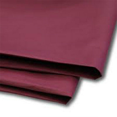 480 Sheets Burgundy Tissue Paper 500x750 Acid Free