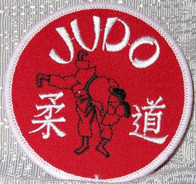 JUDO Martial Arts Olympic  Embroidered PATCH