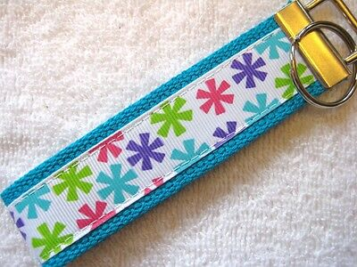 really cute keychains STARBURST FLOWERS Key Fob