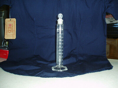 "Kimax 50 Ml. Cylinder, Mixing, ""A"" With Glass Stopper 16"