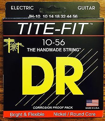 DR JH-10 Electric Guitar Strings 10-56 Tite Fit Jeff Healey