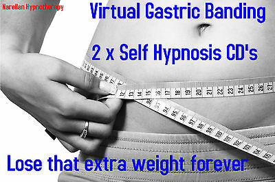 Weight Loss Virtual Gastric Band Hypnosis Surgery 2xCD