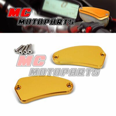For DUCATI BRAKE RESERVOIR CAPS MULTISTRADA 1100 1000 DS STREETFIGHTER 2010 2011