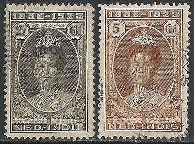 Netherlands Indies stamps 1923 NVPH 165-166  CANC  VF
