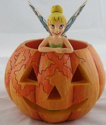 "Disney Traditions ""A Pixie Treat"" Tinkerbell Figurine Enesco MIP"