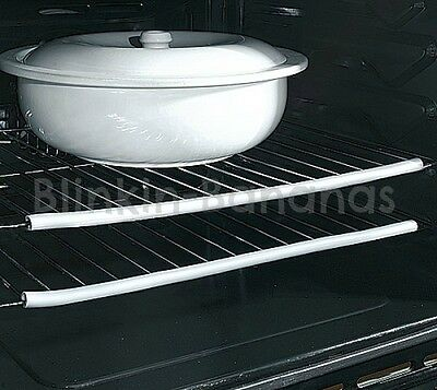 Heat Resistant Silicone Oven Shelf Guard Strip Hand Arm Protector Stop No Burn