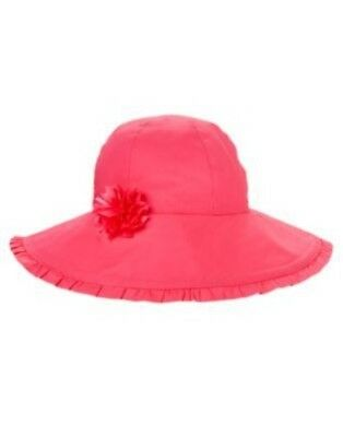 Gymboree Seashell Coral Flower  Sun Hat 0 12 24 2T 3T 4T 5T Nwt