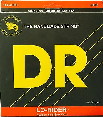 DR MH5-130 Lo-Rider BASS Strings (45-130) 5 string set
