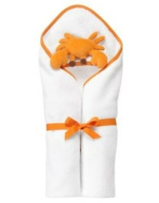Gymboree Little Surfer Dude White Crab Beach Towel Nwt