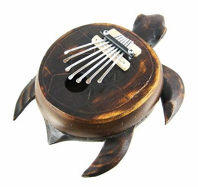 Turtle Karimba / Thumb Piano - Fair Trade - New & Free P/P !!